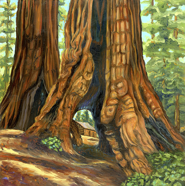 Linda MacDonald: Redwood Memories, Intimate Paintings