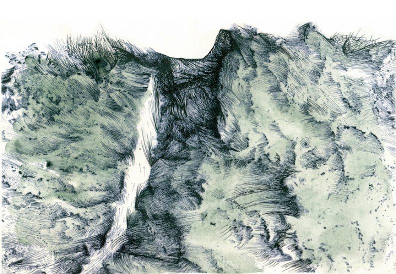 Zea Morvitz, Imagined Landscape