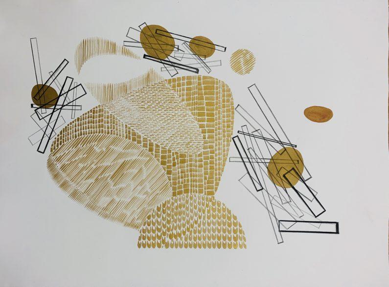Austin_Buckingham_Gold Study2_Monotype_22x30