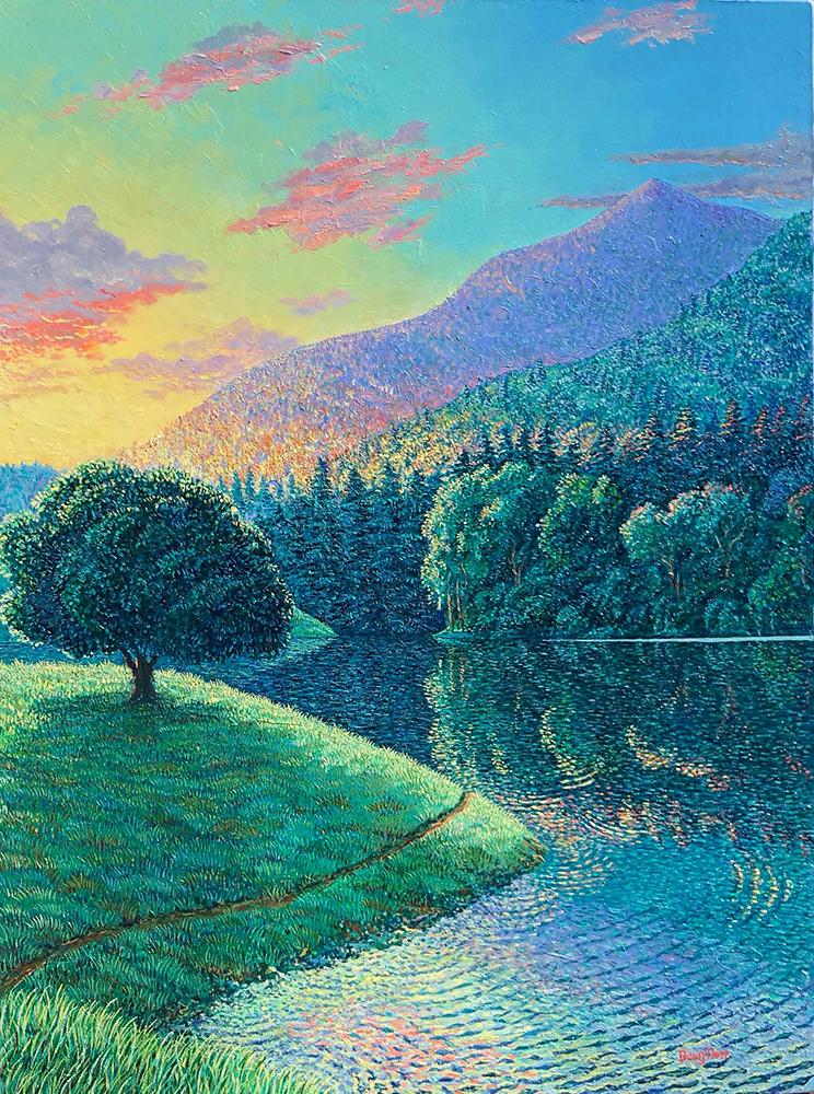 Doug Herr, Bon Tempe Sunrise, Oil
