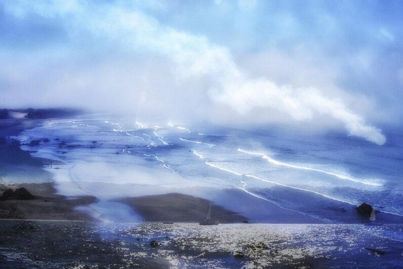 Ian Day, Coastal Divide, Digital print