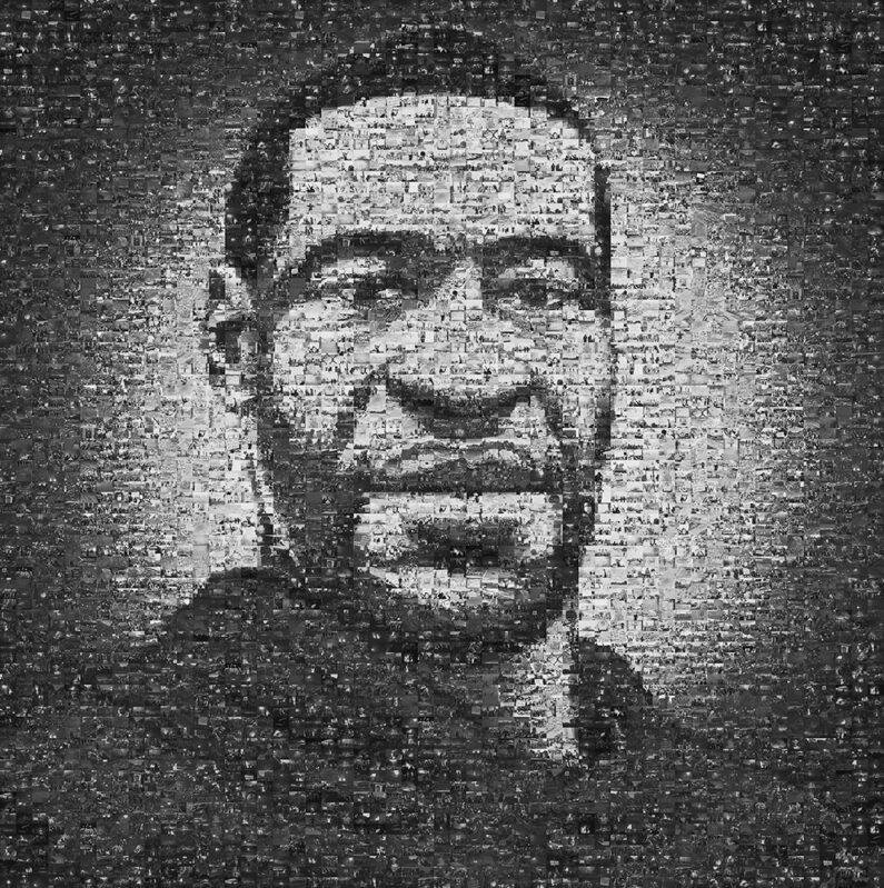 Isaac Klotz, Faces of George Floyd, Digital Print, AWARD OF MERIT