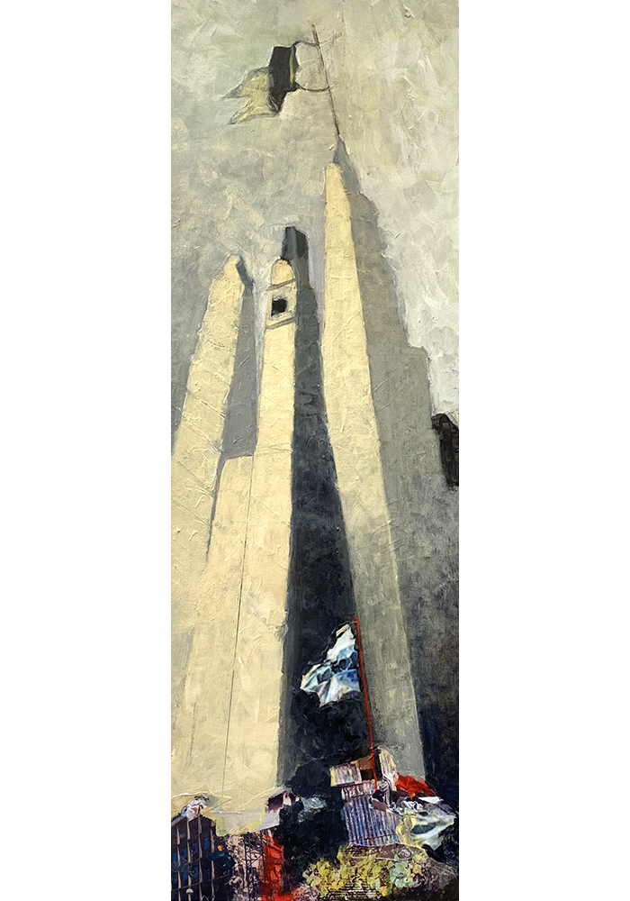 Janet Bogardus, Two Kinds of Flag, Acrylic-