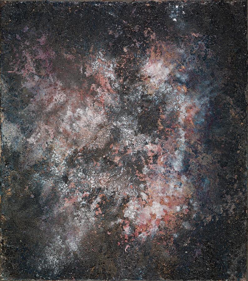 Jenny-Lynn Hall, Nebula, mixed media on plaster