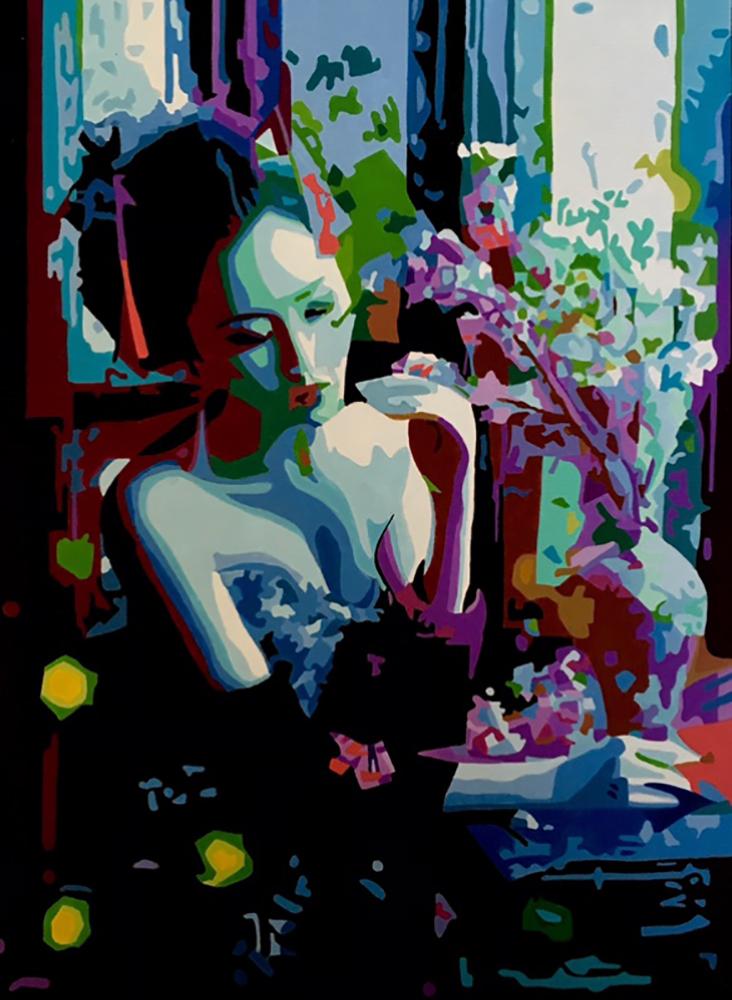 Ron Hall, Harmony at Dawn, Acrylic