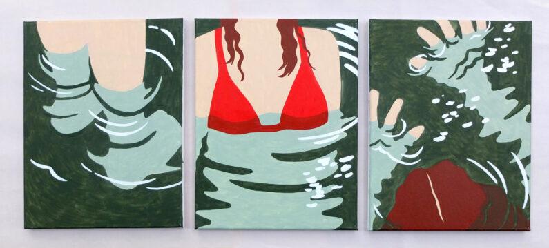 AnnieDuncan_Submersion(triptych)_OilonCanvas_11_x14_web