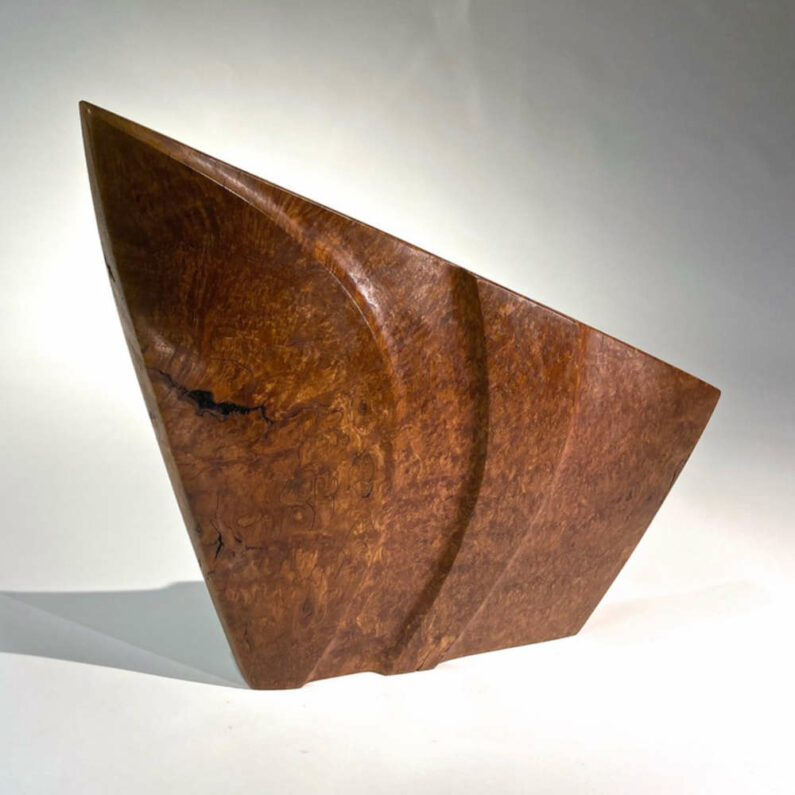 Bruce Mitchel - Double Image Sculpture 1 (front), 16in H x 19in W x 3in D