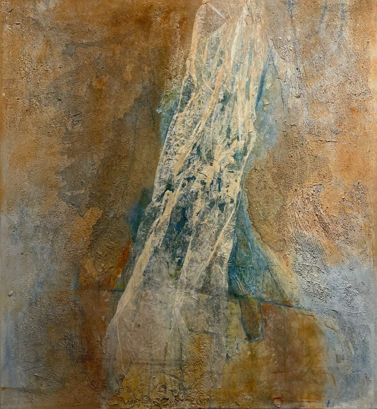 Mary Mountcastle Eubank - Wraith - Mixed Media On Canvas, 48in H x 44in W x 1in D