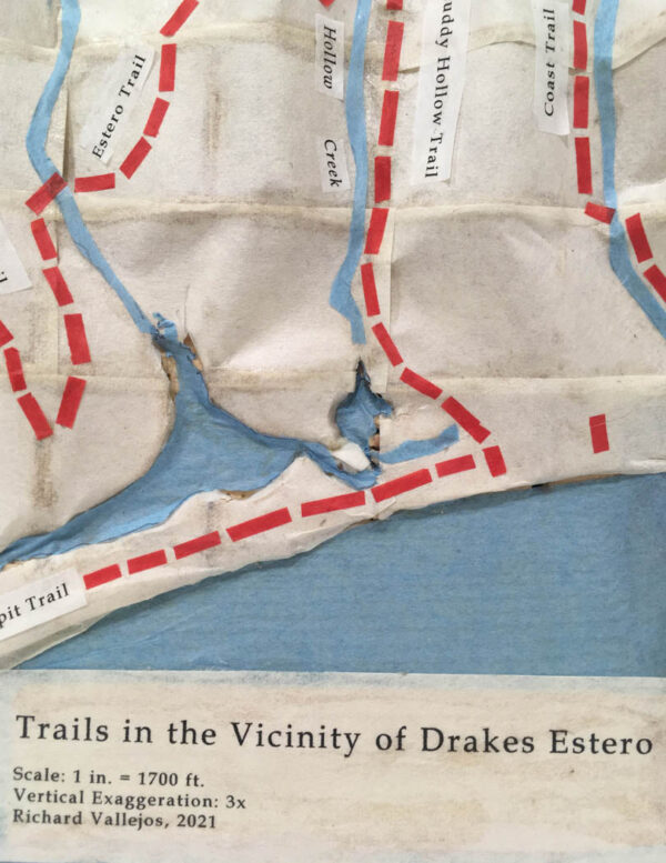 Vallejos, Richard - Trails In The Vicinity of Drake's Estero