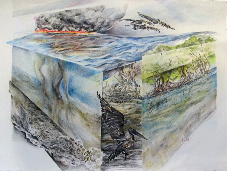 Jane Skafte - Oil Spill