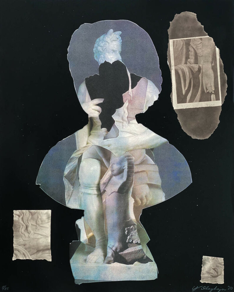 Yétundé Olagbaju - For Edmonia - screenprint, 16x20